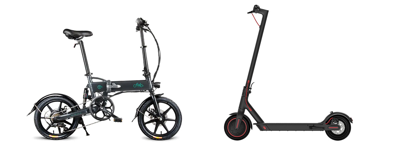 Fiido D2 (e-Bike) vs Xiaomi Scooter Pro (e-Scooter) - e-Bike als Alternative vom e-Scooter