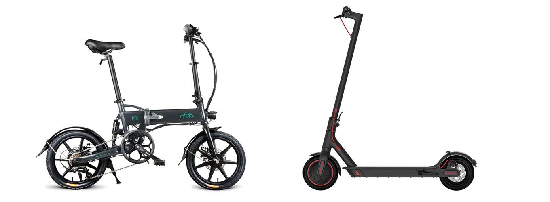 Fiido D2 (e-Bike) vs Xiaomi Scooter Pro (e-Scooter) - e-Bike als Alternative vom e-Scooter