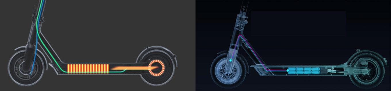 Vergleich Ninebot MAX vs Xiaomi Scooter Pro - Hinterrad- vs Vorderrad Antrieb
