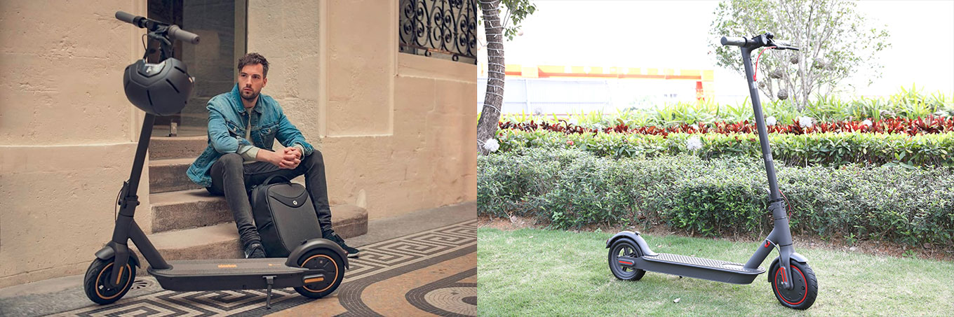 Vergleich: Ninebot MAX vs Xiaomi Scooter Pro - Review Test