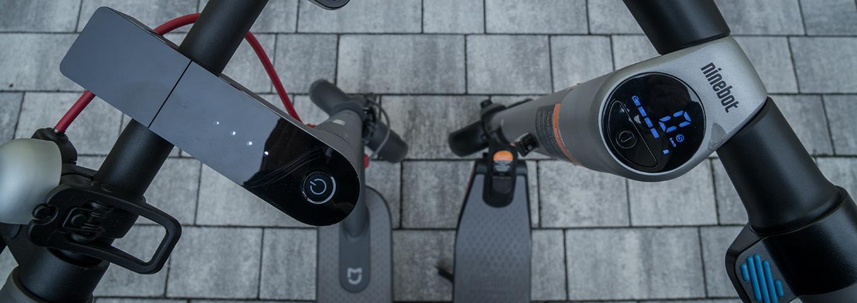 Xiaomi M365 vs Ninebot ES2 by Segway - Vergleich Display