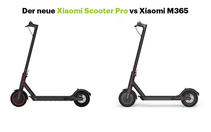 Der neue Xiaomi Scooter Pro vs Xiaomi M365 -Vergleich